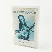 ~ Rare ~ Vintage ~ John Lee Hooker ~ Boom Boom ~ Cassette ~ MCQED 067 ~ 1996 ~