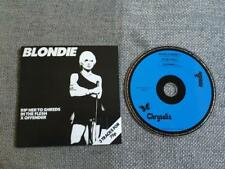 Blondie Rip Her to Shreds  CD Single Card Sleeve