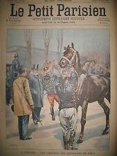 ELYSéE CHEVAUX EQUIPAGES GALA WAR OFFICE LONDON JOURNAL LE PETIT PARISIEN 1900