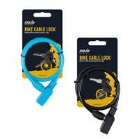 Bike Lock cycle bicycle rack key padlock mountain 1Mtr security spiral steel