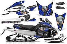 Yamaha FX Nytro 08-14 Graphics Kit CreatorX Snowmobile Sled Decals Wrap DZBL