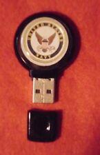 UNITED STATES NAVY USN 4 GB Black DURABLE Plastic USB Flash Drive JUMP DRIVE