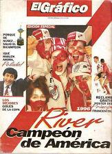 RIVER PLATE AMERICA CHAMPION 1996 vs America de Cali - Francescoli - SPECIAL Mag