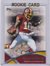 Robert Griffin III RG3 Washington Redskins ROOKIE CARD Topps Football INSERT RC