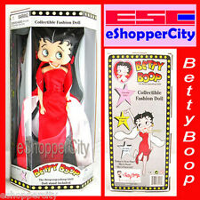 Betty Boop Red Glamour Doll Barbie Type Figure New