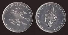 VATICANO - 10 LIRE 1977 - PAOLO VI FDC/UNC FIOR DI CONIO