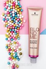 Schwarzkopf BlondeMe Blonde Toning Creative Pastel Tones CARAMEL 60ml