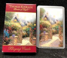 Thomas Kinkade Decks of 54 Bridge Playing Cards Art Gift Souvenir Collectables