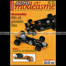 AUTO MODELISME N°15 MERCEDES 230 SLK 24H DU MANS 1996 MCLAREN F1 GTR BMW ESDO