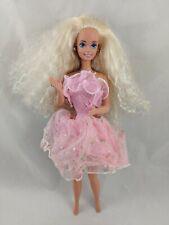Mattel Barbie Doll 1993 Pink Removable Chest Locket Surprise