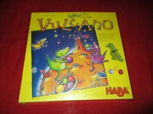 HABA® 4167 Sammelspiel Vulcano NEU OVP