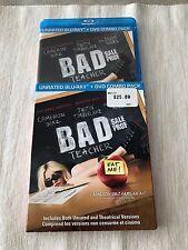 Bad Teacher Blu Ray(Original, No Copy, Like New)Slipcover 2 Disc Set Region Free