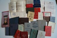 Konvolut Sammlung Dokumente Urkunden Ausweis UdSSR Sowjetunion Russland СССР 04