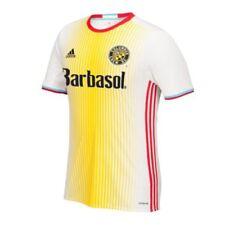 Camiseta de fútbol de clubes americanos y liga MLS de manga corta amarillo