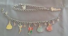 Two Disney Princess Enamel Charm Bracelet ~ Ships FREE