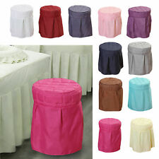 Beauty Salon Round Chair Cover Elastic Stool Cover Parts for Home Spa Dorm