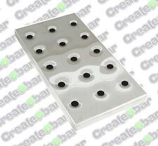 Grande in acciaio INOX BAR / PUB VASCHETTA: 42,5 x 21,5 cm