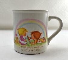 Betsey Clark Friends Make Your Heart A Little Lighter Mug - Hallmark Cup 1983