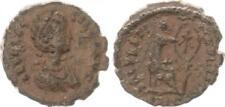 AE 4 + 386 antiguedad/Emperador de Roma tiempo/Aelia flacilla muy bonito