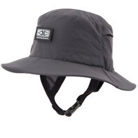 Mens Bingin Soft Peak Surfing Surf Hat In Black From Ocean & Earth