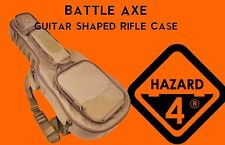 "41"" Hazard 4 BattleAxe Guitar Shaped Rifle Case AR15 AK Urban Travel Bag TAN*"