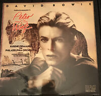 David Bowie Narrates Prokofiev UK LP RCA Red Seal Album 1978 +Loricraft