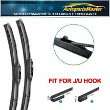 "18""&18"" Hybrid Fit For GMC V1500 V2500 Suburban 1991-1987 Front Wiper Blades J/U"