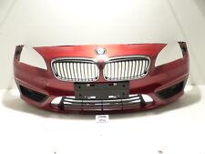 BMW F45 F46 Stoßfänger Stoßstange vorne FLAMENCOROT BRILLANTEFFEKT METALLIC C06