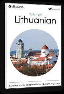 Eurotalk Talk Now Lithuanian for Beginners - Download option and CD ROM