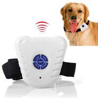 Stop Barking Dogs Dog Anti Bark Stopper Pet Collar Training Adjustable Device kk