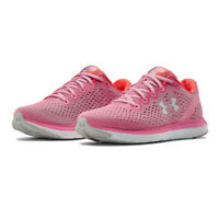 Under Armour Womens Charged Impulse Running Shoes Trainers Sneakers - Pink