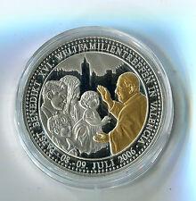 Medaille Papst Benedikt XVI Weltfamilientreffen in Valencia 2006 M_059