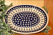56 Bunzlauer Keramik Kuchenplatte rund Dek