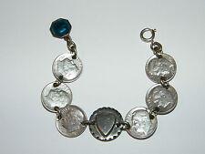 Münzen,Armband,USA,One Dime,Religion,Lourdes,Herz,1946-47,Armbänder,Silber,?
