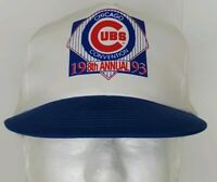 Vintage 1993 Chicago Cubs Convention 8th Annual Baseball Cap Snapback Hat Pepsi