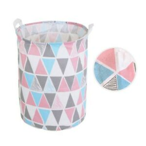 7 STYLES Laundry Hamper Clothes Foldable Basket Cotton Waterproof Storage