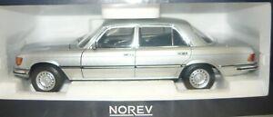 Norev 183785, Mercedes-Benz 450 SEL 6.9, 1976, silber, 1/18, NEU&OVP