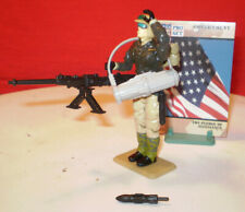 1990 GI JOE RAMPART COASTAL DEFENDER + CARD & STAND ARAH VINTAGE HASBRO cobra **