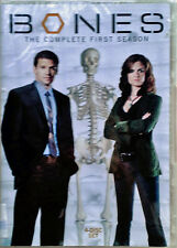 BONES - COMPLETE FIRST SEASON- ERIC MILLEGAN, E.DESCHANEL - (4) DVD SET - SEALED