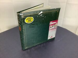 leather Pioneer Photo Albums MP46-BL Full Size Album 4X6 6 PP 300 Photo Green