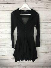ALLSAINTS Party Dress - Size UK6 - Black - Silk - Great Condition