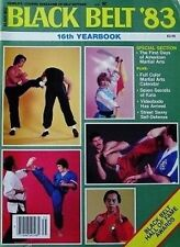 1983 BLACK BELT YEARBOOK CYNTHIA ROTHROCK WILLIAM CHEUNG KARATE MARTIAL ARTS