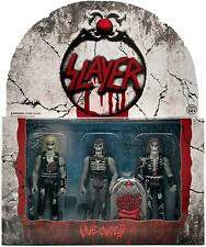Slayer Band Live Undead 3-Pack Reaction Figures Officially Licensed Super7 CHOP