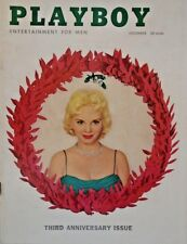 *Playboy December 1956 #37 VG+ 3rd Anniversary Issue