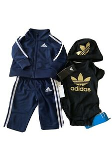 Baby Adidas tracksuit Sz0-3 NWT