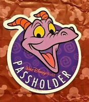 NEW Authentic Walt Disney World Passholder Figment Magnet Epcot Festival Of Arts