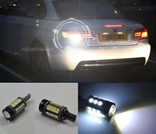 For BMW F30 F31 F34 F82 M3 M4 2x White Error Free LED Reverse Back up Light Bulb
