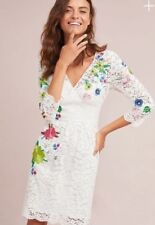 Anthropologie Adaline Lace Dress NWT new 16