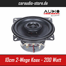 Audio System MXC 100 EVO - 10cm Koaxialsystem Lautsprecher 100 Watt Max - Paar