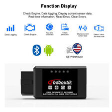 ELM327 V1.5 Bluetooth OBD2 OBDII Car Diagnostic Scanner Code Reader Tool Hot